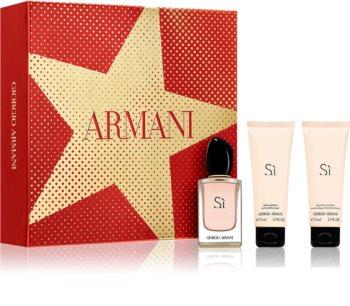 Armani Sì Geschenkset X. für Damen