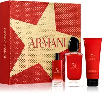 Armani Sì Passione poklon set II. za žene