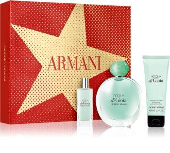 Armani Acqua di Gioia ajándékszett IV. hölgyeknek