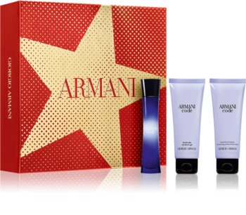 Armani Code coffret cadeau XII. pour femme