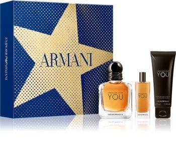 Armani Emporio Stronger With You coffret cadeau VI. pour homme