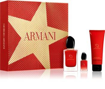 Armani Sì  Passione coffret cadeau pour femme