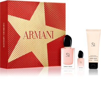 Armani Sì Fiori coffret cadeau V. pour femme
