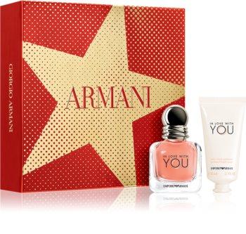 Armani Emporio In Love With You Geschenkset IV. für Damen