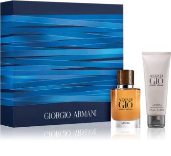 Armani Acqua di Giò Absolu set cadou VlI. pentru bărbați