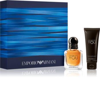 Armani Emporio Stronger With You set cadou XI. pentru bărbați