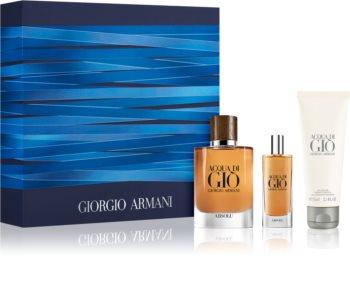 Armani Acqua di Giò Absolu zestaw upominkowy dla mężczyzn