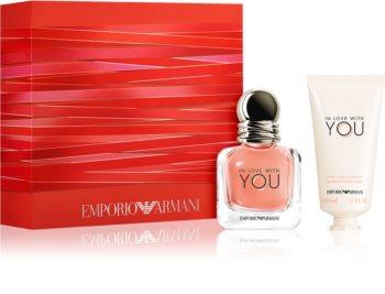 Armani Emporio In Love With You set cadou pentru femei