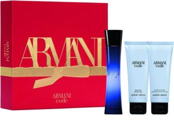 Armani Code Geschenkset für Damen