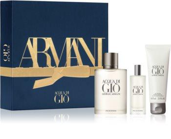 Armani Acqua di Gio Pour Homme set cadou II. pentru bărbați