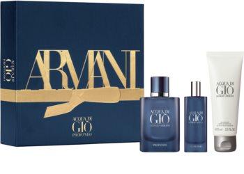 Armani Acqua di Giò Profondo set cadou pentru bărbați