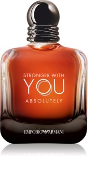 Armani Emporio Stronger With You Absolutely parfum voor Mannen