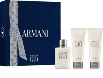 Armani Acqua di Giò Pour Homme Gift Set  XIV. voor Mannen