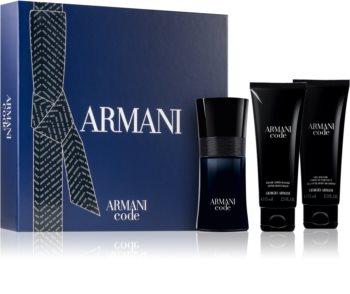 Armani Code zestaw upominkowy dla mężczyzn