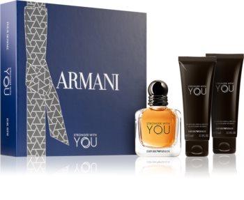 Armani Emporio Stronger With You подарунковий набір для чоловіків
