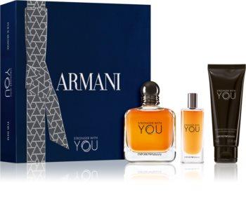Armani Emporio Stronger With You подаръчен комплект за мъже