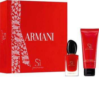 Armani Sì Passione set cadou pentru femei