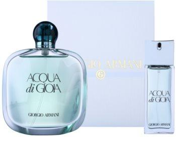 Armani Acqua di Gioia coffret para mulheres