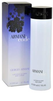 Armani Code mlijeko za tijelo za žene 200 ml