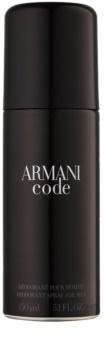 Armani Code déodorant en spray pour homme