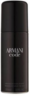 Armani Code dezodorant w sprayu dla mężczyzn