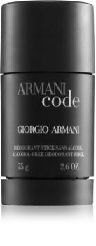 Armani Code deostick pro muže
