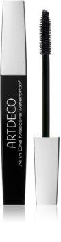 Artdeco All in One Mascara Waterproof řasenka pro objem, styling a natočení řas voděodolná