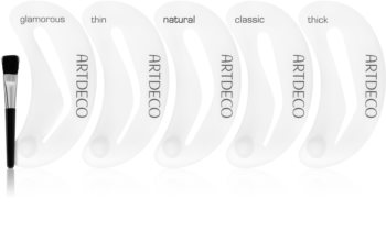 Artdeco Eye Brow Stencil with Brush Applicator четка за вежди със шаблони