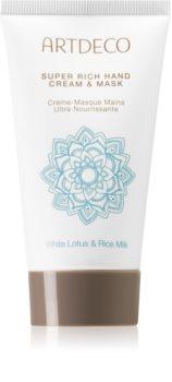 Artdeco Asian Spa White Lotus & Rice Milk дълбоко възстановителен крем за ръце
