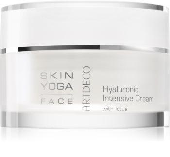 Artdeco Skin Yoga Hyaluronic intenzivně hydratační krém s kyselinou hyaluronovou