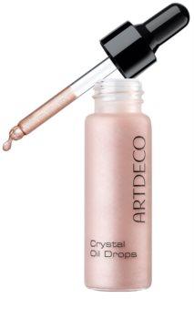 Artdeco Crystal Garden aceite iluminador con purpurina para rostro, cuerpo y cabello