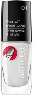 Artdeco Peel off Base Coat esmalte base de uñas peel-off para uñas