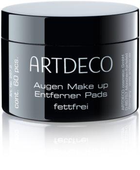 Artdeco Eye Makeup Remover sminklemosó vattakorong nem tartalmaz olajat