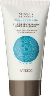 Artdeco Super Rich Hand Cream & Mask crema y mascarilla de regeneración profunda para manos