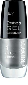 Artdeco 2 Step Gel Laquer Color Base gélový lak na nechty