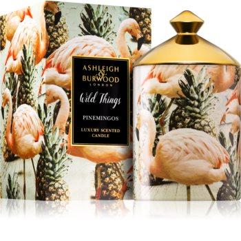 Ashleigh & Burwood London Wild Things Pinemingos bougie parfumée (Coconut & Lychee)