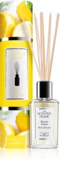 Ashleigh & Burwood London The Scented Home Sicillian Lemon Aroma Diffuser mitFüllung