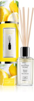 Ashleigh & Burwood London The Scented Home Sicillian Lemon aroma diffuser with filling