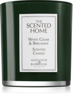 Ashleigh & Burwood London The Scented Home White Cedar & Bergamot Duftkerze