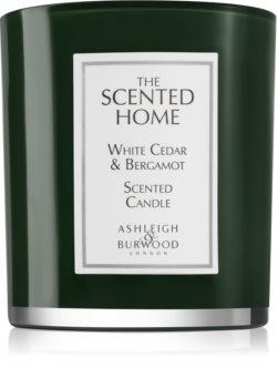 Ashleigh & Burwood London The Scented Home White Cedar & Bergamot illatos gyertya