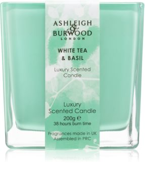 Ashleigh & Burwood London Life in Bloom White Tea & Basil Duftkerze