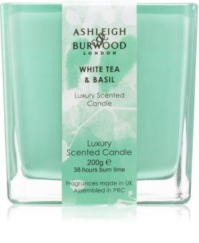 Ashleigh & Burwood London Life in Bloom White Tea & Basil ароматна свещ