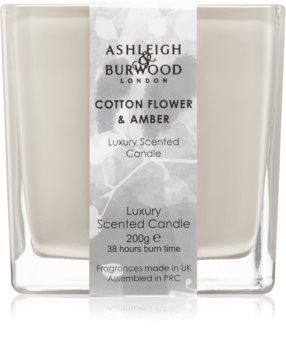 Ashleigh & Burwood London Life in Bloom Cotton Flower & Amber Duftkerze
