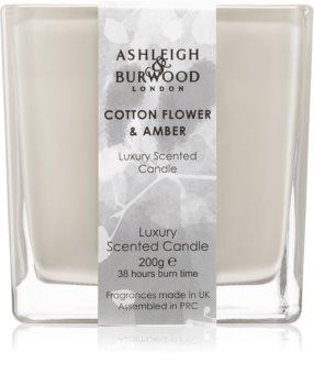 Ashleigh & Burwood London Life in Bloom Cotton Flower & Amber Tuoksukynttilä