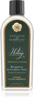 Ashleigh & Burwood London The Heritage Collection Bergamot & Golden Oud Katalyyttisen Lampun Täyttäjä I.