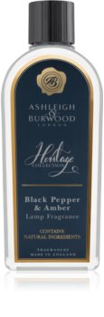 Ashleigh & Burwood London The Heritage Collection Black Pepper & Amber katalytisk lampe med genopfyldning I.