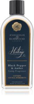 Ashleigh & Burwood London The Heritage Collection Black Pepper & Amber Katalyyttisen Lampun Täyttäjä I.