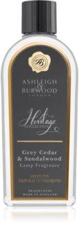 Ashleigh & Burwood London The Heritage Collection Grey Cedar & Sandalwood Katalyyttisen Lampun Täyttäjä