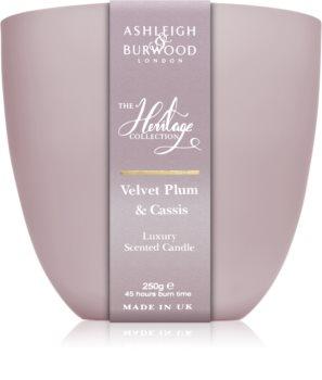 Ashleigh & Burwood London The Heritage Collection Velvet Plum & Cassis bougie parfumée