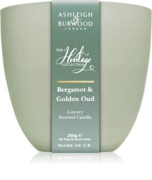 Ashleigh & Burwood London The Heritage Collection Bergamot & Golden Oud scented candle